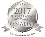 Australasian Law Awards 2017