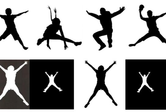 Star jump or high jump