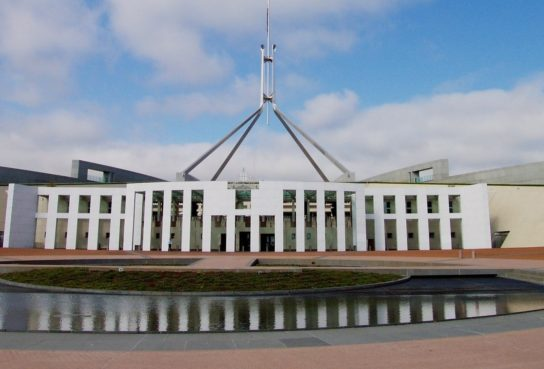 Hear what happened in Canberra? No, not that