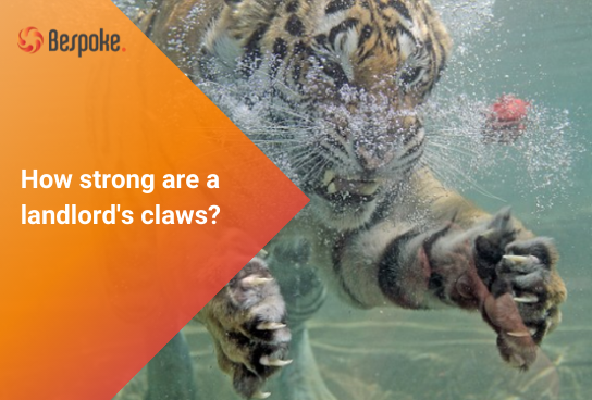 How strong are a landlord's claws?